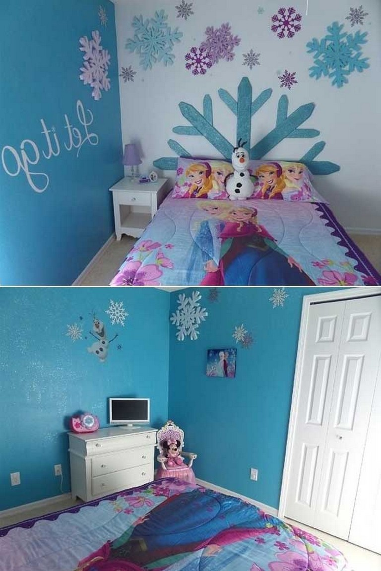 10 Lovely Frozen Themed Room Decor Ideas Your Kids Will Love