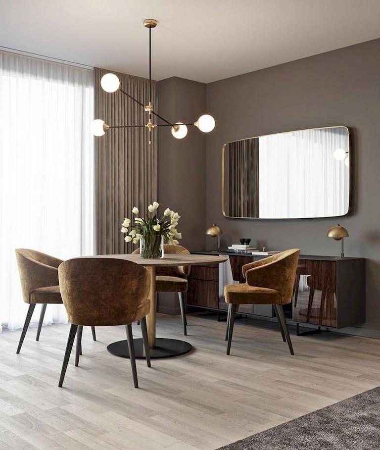70+ Opulence Modern Mid Century Dining Room Table Ideas
