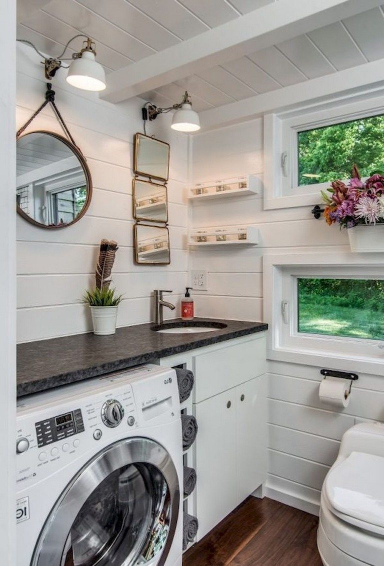 30 Tiny House Bathroom Design Inspirations